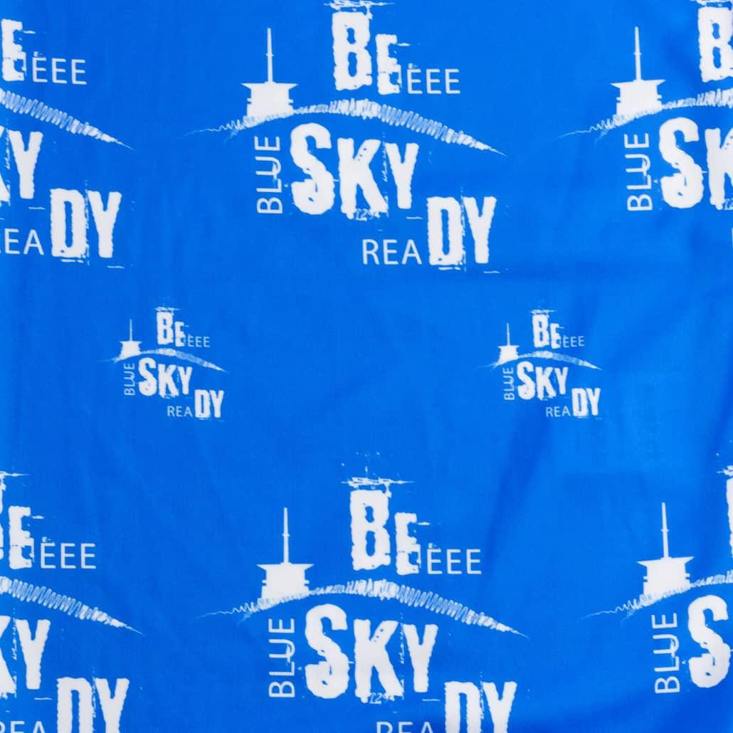 Beskydy šátek modrobílý