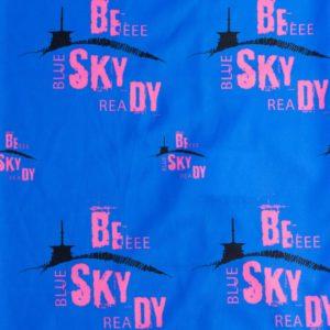 Beskydy šátek modrorůžový