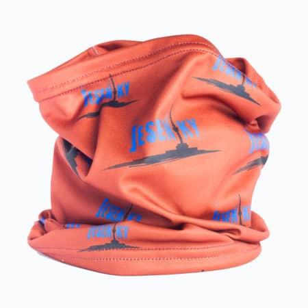 Funkční šátek Jeseníky hnědý