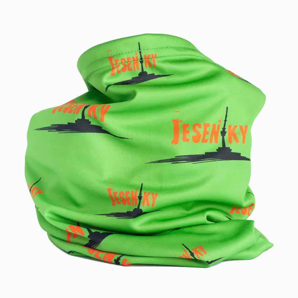 Funkční šátek Jeseníky zelený