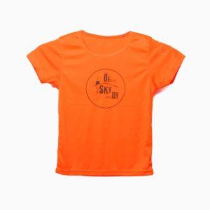 Dětské triko Beskydy oranžové