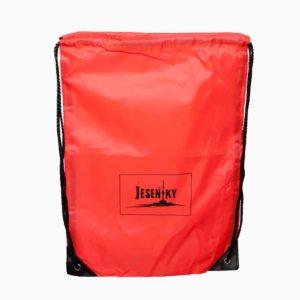 červený batoh Jeseníky