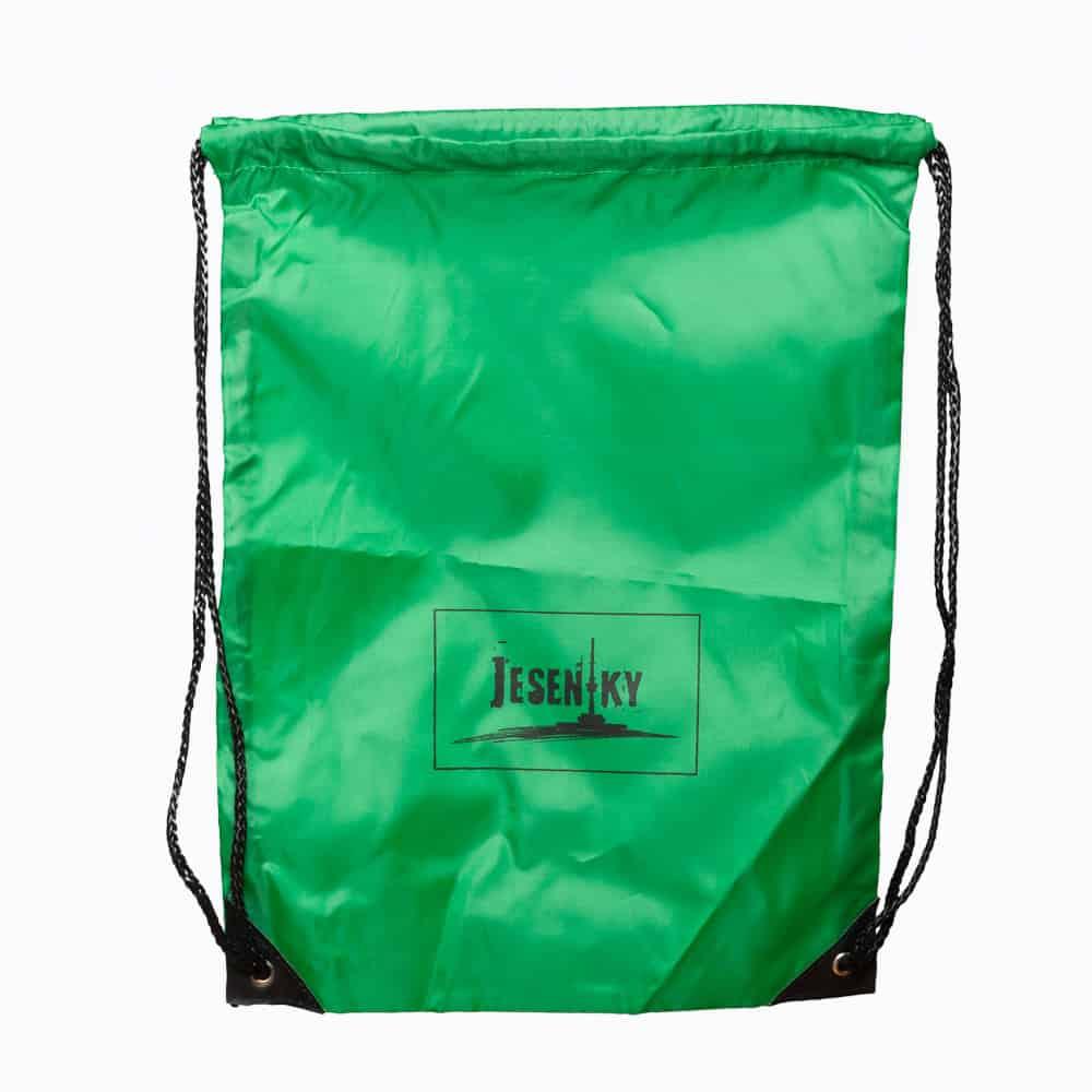 Zelený batoh Jeseníky