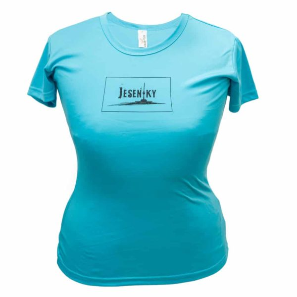 Jeseníky dámské funkční triko modré