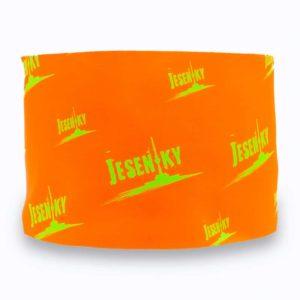 Funkční čelenka jeseníky - oranžová